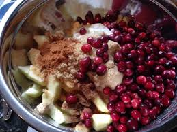Apple Cranberry Tart Ingredients