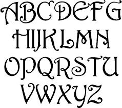 fun free alphabet stencil