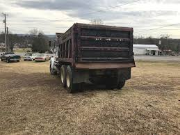 1986 White Dump Truck With Sleeper Cab For Sale | Wilburon, OK ...
