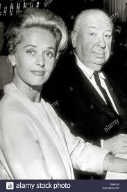 Tippi Hedren And Alfred Hitchcock,