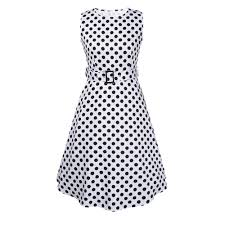 online get cheap white polka dot dress aliexpress com alibaba group