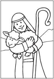 The Lost Sheep And Good Shepherd