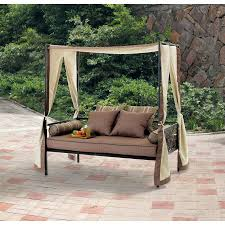 Patio Swings With Canopy outdoor patio furniture day bed lounge with canopy sun shade only