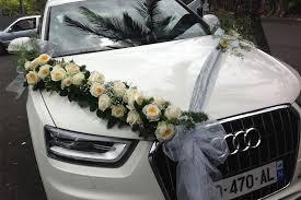 décoration voiture mariage isa déco
