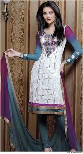 Salwar Kameez Neck Designs With Laces Multicoloured Lace