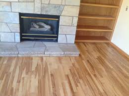 Prefinished Hickory Flooring Natural Ash Hardwood White Wood Bellawood