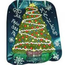 Christmas Tree Shape Cake Of 3 Kgs