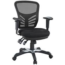 east ends articulate black mesh office chair with dual caster