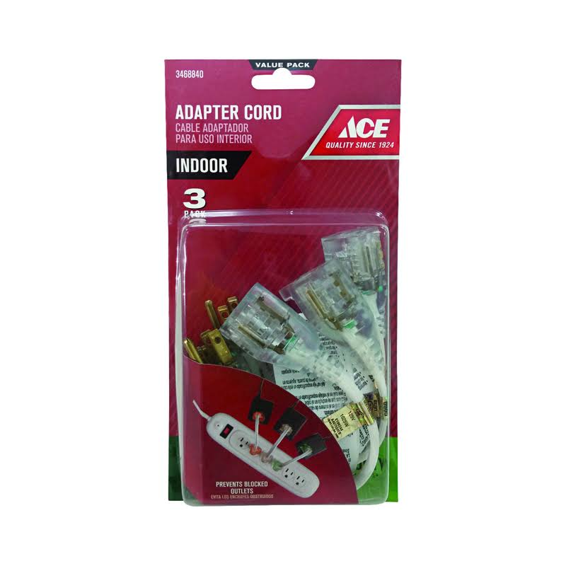 Ace Indoor White Adapter Cord
