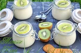 dessert aux kiwis facile mousse de kiwi dessert en verrines couscous et puddings