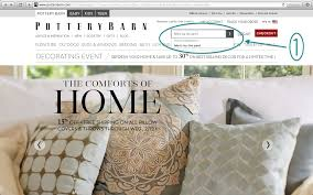 Tally Tales How to Order FREE Pottery Barn Fabric Swatches