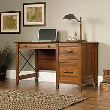 Sauder Edge Water Executive Desk by Darvin Furniture Orland Park Chicago Il