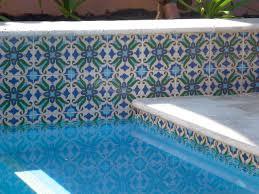 perth pool mediterranean pool perth by decorative pool tiles