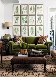 Botanical Emerald Green Velvet Sofa Ikea Design Ideas Elegant
