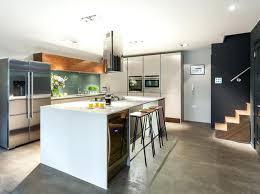 cuisine avec ilot central et coin repas ilot de cuisine avec coin repas central cuisine en cuisine avec