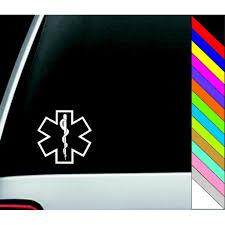 การเปรียบเทียบราคา Cool Vinyl Car Truck Window Decals Emergency ...