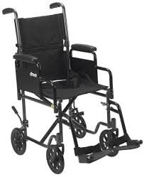 Transport Chair Or Wheelchair by Steel Transport Chair Drive Medical