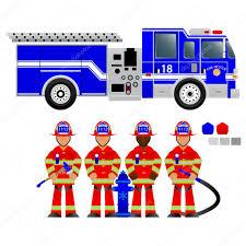 100 Clipart Fire Truck 27 Fire Fighting Team Free Clip Art Stock