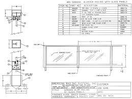 Glass Railing Detail Dwg
