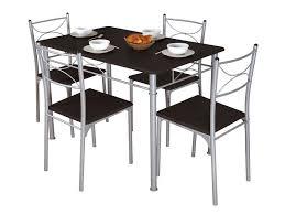 table de cuisine 4 chaises pas cher table cuisine grise rectangulaire table et 6 chaises pas cher