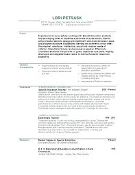 Preschool Director Resume Sample Of A Teacher Secondary Examples Instructor Resumes Samples