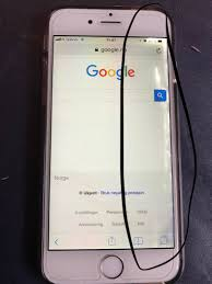 iPhone 6 screen has multiple spots with white light How do I fix