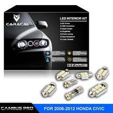 9 pcs canbus pro xenon white premium led interior light kit for