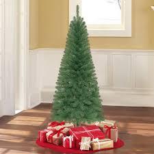 Mini Fiber Optic Christmas Tree Walmart by Holiday Time Unlit 6 U0027 Wesley Pine Artificial Christmas Tree
