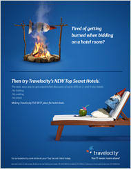 Top Secret Hotels A New Travelocity Feature Is To Be Promoted In Campaign Scheduled Begin On Wednesday