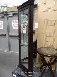 pulaski furniture gibson glass display cabinet inside incredible