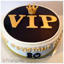 vip important torte zum 30 geburtstag torte