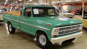 1969 Ford F250 Pickup 360 V8 - YouTube
