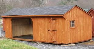 Loafing Shed Kits Texas by Run In Sheds Horse Shelters Run In Sheds For Horses