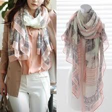 fashion women long cotton scarf wrap ladies shawl girls large silk