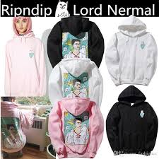 cat hoodies ripndip umbrella hooded sweatshirts spoof artist freda middle cat