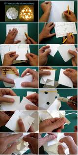 DIY Paper Lampshade Step By