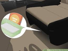 4 Ways to Get Rid of New Car Smell wikiHow