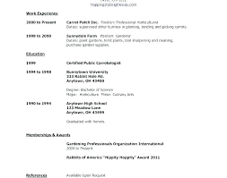 Listening Skills Resume Sample On A Example Of Job Template First