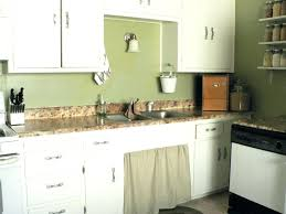 Country Kitchen Colors Cool Laminate White With