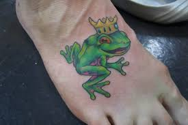 My Little Frog Prince Tattoo