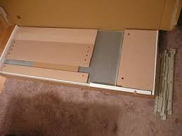 Ikea Malm 6 Drawer Dresser Package Dimensions by Assembling The Ikea Malm 6 Drawer Dresser Moore Diy