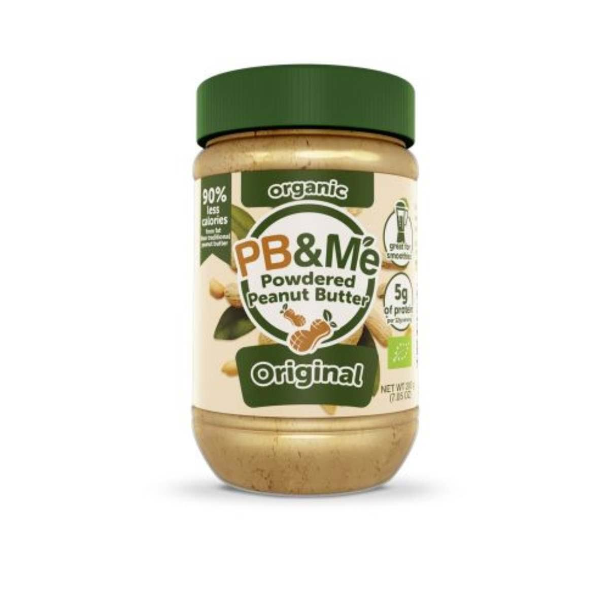 PB and Me Organic Original Powdered Peanut Butter - 200g
