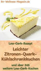 leichter low carb zitronen quark kühlschrankkuchen rezept