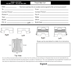 Cut Sheets - Condon's Auto Parts