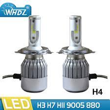 aliexpress buy whdz h4 led headlight bulb 75w 6500k