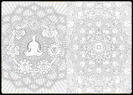 Meditation Coloring Book Inside Spread 1