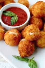 cuisine facile a faire croquettes de mozzarella très rapide et facile à faire cuisine