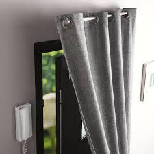 rideau obscurcissant stop froid plus gris gris n 1 l 140 x h