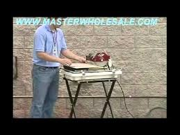 mk 660 tile saw demonstration video youtube