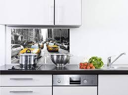 grazdesign glasplatte küche amerika spritzschutz küche glas